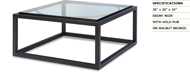 Circle Square Party Coffee Table